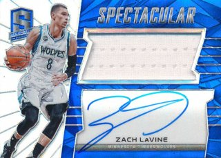 2015-16 PANINI SPECTRA Prizm Jersey Auto Zach LaVine 【149枚限定】Rookie Star RS68様
