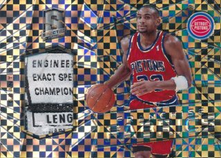 2015-16 PANINI SPECTRA Black Prizm Tag Patch Grant Hill 【1枚限定】Rookie Star RS21様