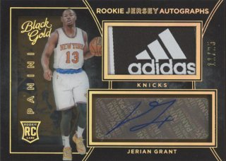 2015-16 Panini Black Gold Jerian Grant RC Tag Patch Auto 【25枚限定】 コレトレ WC様