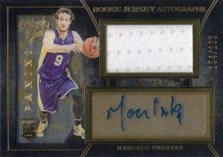 15-16 Panini Black Gold Rookie Jersey Autograph Card Marcelo Huertas 【165枚限定】 MINT梅田店 ミク様