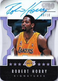 2015-16 Panini Gala Signatures Director's Cut Robert Horry【10枚限定】ミント札幌店 かべたろう様