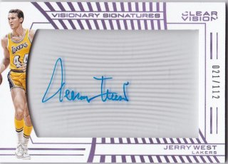 2016 PANINI CLEAR VISION VISIONARY SIGNATURES JERRY WEST【112枚限定】ミント横浜店 イツカ様