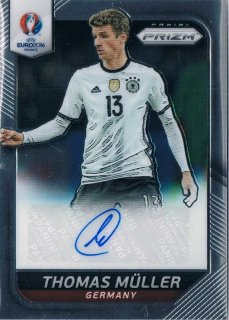 2016 PANINI EURO PRIZM Autograph Thomas Muller / MINT新宿店026 キノ様