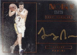 15-16 Panini Noir Rookie Autograph (Bronze) Larry Nance Jr. 【25枚限定】 MINT梅田店 ディック様