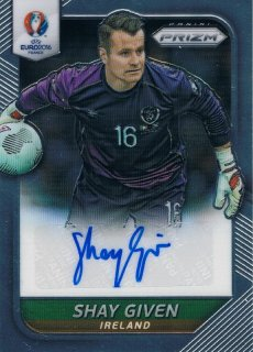 2016 PANINI EURO PRIZM Autograph Shay Given / MINT新宿店022 タケチ様