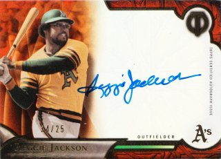 2016 Topps Tribute Tribute Autographs Orange Reggie Jackson【25枚限定】ミント札幌店 B・B様