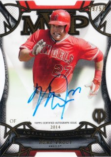 2016 Topps Tribute Ageless Accolades Autographs Mike Trout【50枚限定】ミント札幌店 B・B様
