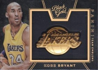 15/16 PANINI BLACK GOLD TEAM EMBLEMS Kobe Bryant/MATCHUP FF 様