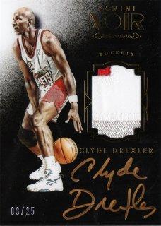 2015-16 Panini Noir Noir Autographed Prime Color Clyde Drexler【25枚限定】ミント札幌店 Tezcatlipoca様