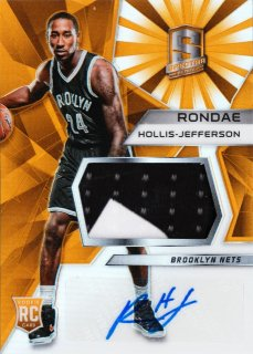 2015-16 Panini Spectra Rookie Jerseys Auto Orange Rondae Hollis-Jefferson【25枚限定】ミント札幌店 Tezcatlipoca様