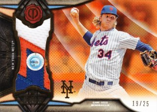 2016 Topps Tribute Stamp of Approval Relics Orange Noah Syndergaard 【25枚限定】ミント札幌店 呂布様