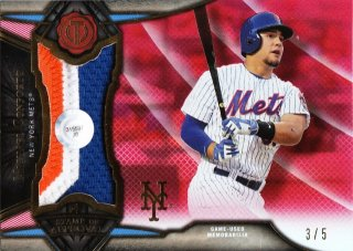 2016 Topps Tribute Stamp of Approval Relics Red Michael Conforto 【5枚限定】ミント札幌店 呂布様