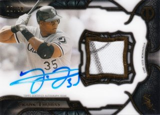 2016 Topps Tribute Cuts From the Cloth Autograph Relics Frank Thomas 【50枚限定】ミント札幌店 呂布様