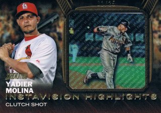 2016 TOPPS STADIUM CLUB Instavision Highlights Gold Yadier Molina 【25枚限定 1st No.!!】 渋谷店 決着 様