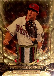 2016 TOPPS TRIBUTE Tribute Relics Tribute SuperFractor Paul Goldschmidt  【1of1!!】 ミント渋谷店 決着 様