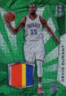 2015-16 PANINI SPECTRA SWATCHES GREEN Kevin Durant 【5枚限定ファーストナンバー】 / MINT池袋店 O様