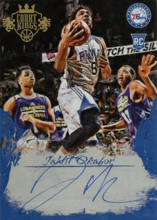 2015-16 PANINI COURT KINGS 5x7 BOX TOPPER AUTOGRAPHS Jahlil Okafor / MINT池袋店 ミナミ様