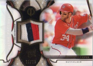 2016 Topps Tribute Prime Patche Card Bryce Harper 【25枚限定】 梅田店 BOWMANKING様