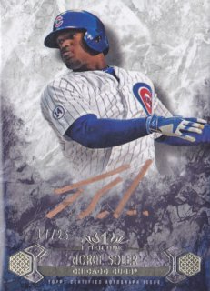 2016 Tier One Jorge Soler Breakout Autograph card 25枚限定 ポニーランド YY様