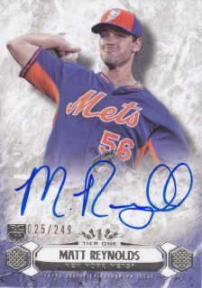 2016 Tier One Matt Reynolds Rookie Auto 249枚限定 ポニーランド OK様