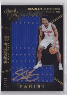 2015-16 Panini Black Gold Stanley Johnson RC Sizeable Signature 99枚限定 ポニーランド MM様