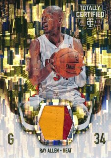 2015-16 PANINI TOTALLY CERTIFIED Camo Patch Ray Allen 【25枚限定】Rookie Star RS2様