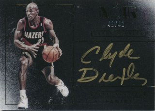 2015-16 PANINI Noir Auto Clayde Drexler 【49枚限定】Rookie Star RS60様
