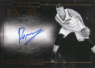 2015-16 PANINI Noir Auto Kristaps Porzingis 【25枚限定】Rookie Star RS60様