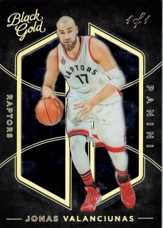 2015-16 PANINI BLACK GOLD BASE PARALLEL BLACK GOLD JONAS VALANCIUNAS 【1枚限定】/MINT立川店 TANA07様