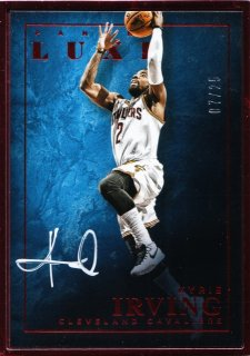 2015-16 Panini Luxe Luxe Framed Autographs Ruby Kyrie Irving【25枚限定】ミント札幌店 よし様
