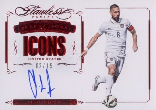 2016 FLAWLESS United States International Icons Signatures Clint Dempsey【15枚限定】MINT福岡店 RVP様