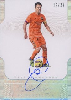2016 FLAWLESS FC Barcelona Pitch Perfect Signatures Xavi Hernandez【25枚限定】MINT札幌店 山さん様