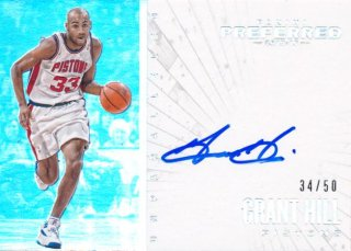 2015-16 PANINI PREFERRED Unparalleled Auto Grant Hill 【50枚限定】Rookie Star RS60様