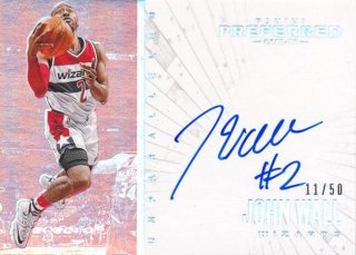 2015-16 PANINI PREFERRED Unparalleled Auto John Wall 【50枚限定】Rookie Star RS60様