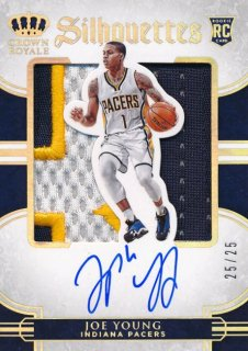 2015-16 PANINI PREFERRED RC Silhouettes Patch Auto Joe Young 【25枚限定】Rookie Star RS61様