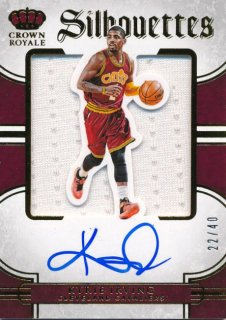 2015-16 PANINI PREFERRED Silhouettes Jersey Auto Kyrie Irving 【40枚限定】Rookie Star RS61様