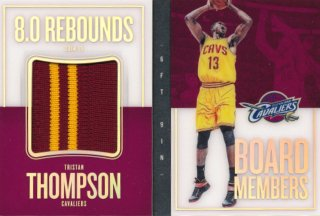 2015-16 PANINI PREFERRED Booklet Patch Tristan Thompson 【5枚限定】Rookie Star RS66様