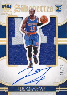2015-16 PANINI PREFERRED RC Silhouettes Patch Auto Jerian Grant 【25枚限定】Rookie Star RS70様