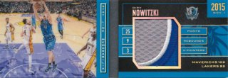 2015-16 PANINI PREFERRED Booklet Patch Dirk Nowitzki 【25枚限定】Rookie Star RS79様