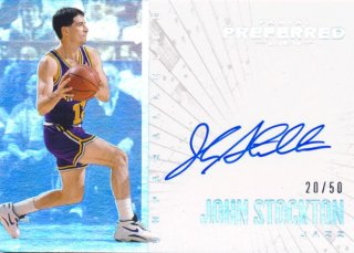 2015-16 PANINI PREFERRED Unparalleled Auto John Stockton【 50枚限定】Rookie Star RS79様
