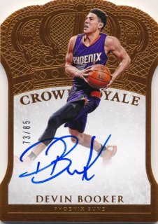 2015-16 PANINI PREFERRED RC Crown Royale Auto Devin Booker【85枚限定】Rookie Star RS51様