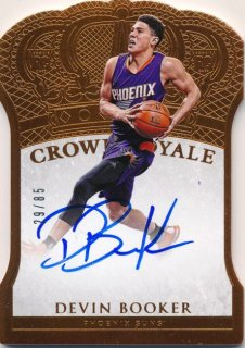 2015-16 PANINI PREFERRED RC Crown Royale Auto Devin Booker 【85枚限定】Rookie Star RS80様