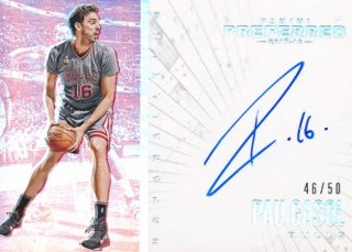 2015-16 PANINI PREFERRED Unparalleled Auto Pau Gasol 【50枚限定】Rookie Star RS80様
