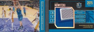 2015-16 PANINI PREFERRED Booklet Patch Dirk Nowitzki 【25枚限定】Rookie Star RS81様