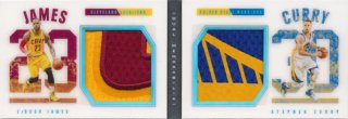2015-16 PANINI PREFERRED Patch LeBron James Stephen Curry 【1枚限定】Rookie Star RS18様