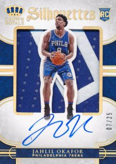 2015-16 PANINI PREFERRED RC Silhouettes Patch Auto Jahlil Okafor 【25枚限定】Rookie Star RS50様