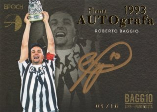 EP R・BAGGIO LIFE OF THE FANTASISTA Autografa 1993 Juventus【18枚限定】ミント福岡店 MIRV様
