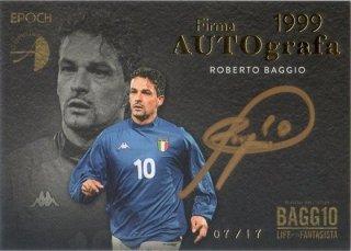 EPOCH 2016 ROBERTO BAGGIO LIFE OF THE FANTASISTA Autograph 【17枚限定】 神田店 神田のバッジョ大好きっ子様