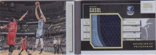 2015-16 Panini Preferred Mark Gasol Book-let Patch card 25枚限定 ポニーランド MM様