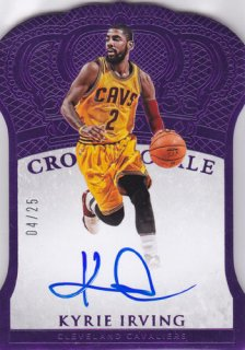 2015-16 Panini Preferred Kyrie Irving Crown Royale Purple Auto 25枚限定 ポニーランド MM様